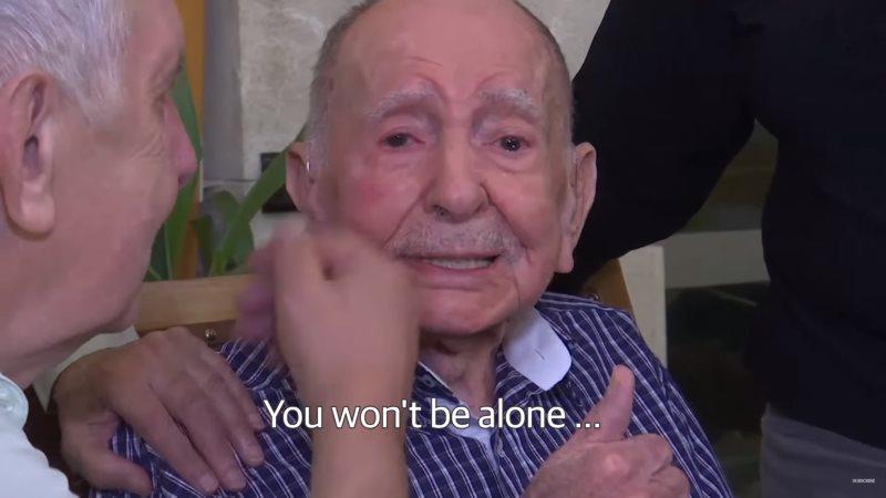 102-letni mężczyzna z Polski przeżył Holokaust. Teraz spotkał jedynego żyjącego członka rodziny! [WIDEO]