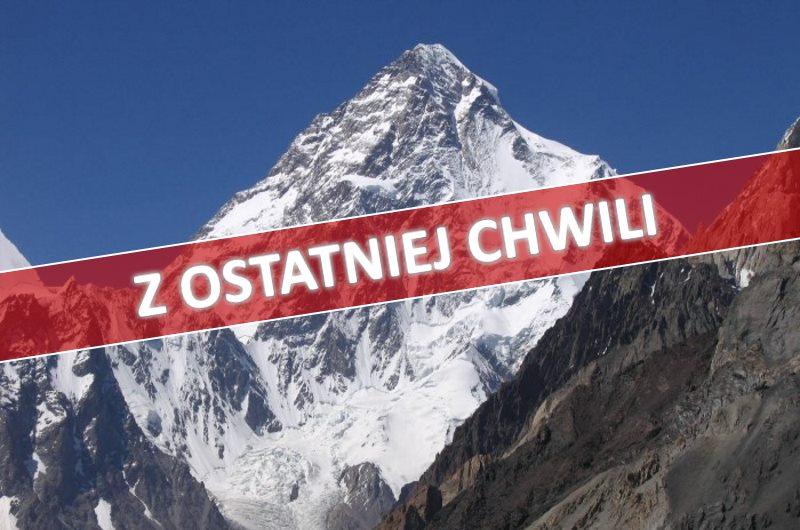 Z OSTATNIEJ CHWILI: Wypadek Polaka na K2!
