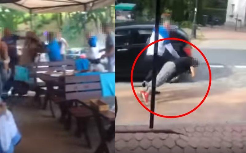 Brutalna bójka i ciężko pobita kobieta. Została uderzona i upadła nieprzytomna na ziemię. Policja zatrzymała sprawcę
