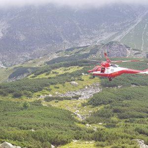 Kamienna lawina w Tatrach. Jedna osoba zginęła