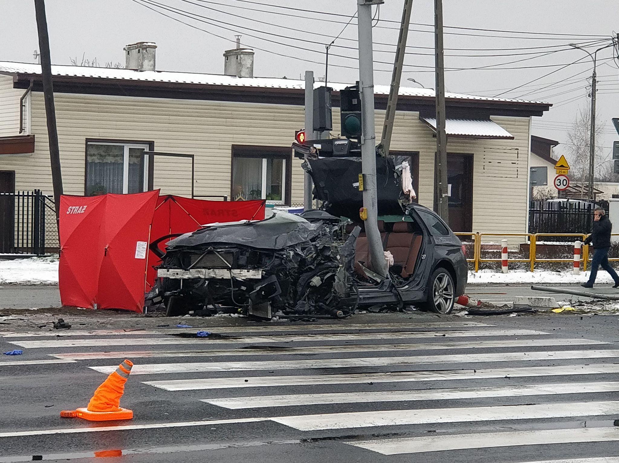"""Śmiertelny wypadek na krajowej """"7"""". Prokuratura i policja bada okoliczności"""