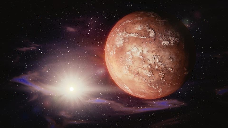 Naukowcy pokazali zdjęcia z Marsa, a na nich… Polska flaga!