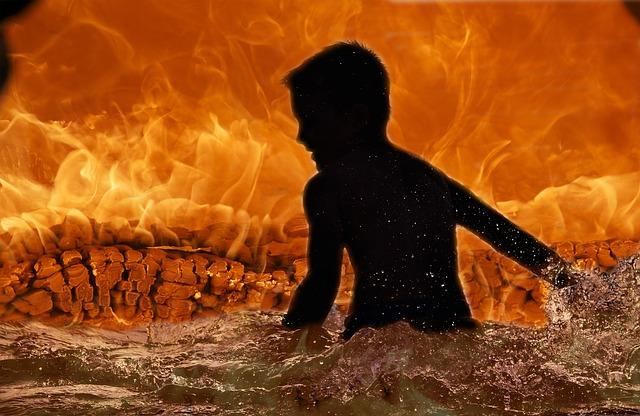 Makabra! Dzieci spłonęły żywcem w pożarze fabryki zapałek