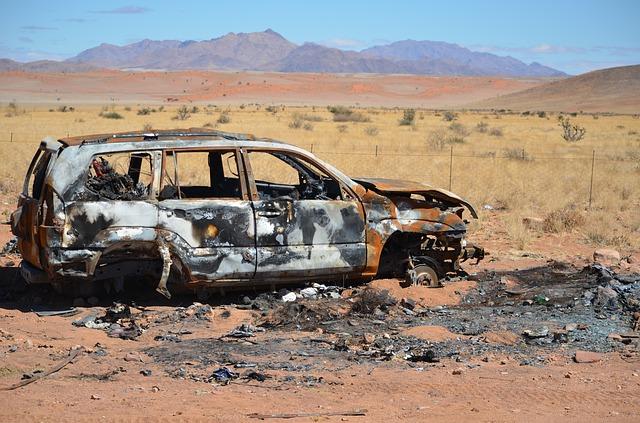 Kolejny rekord gorąca pobity. Topią się samochody bogatych szejków
