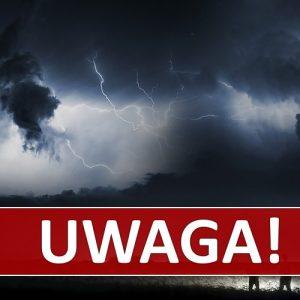 IMGW ostrzega: Silne burze z gradem! Intensywny deszcz i silne porywy wiatru!