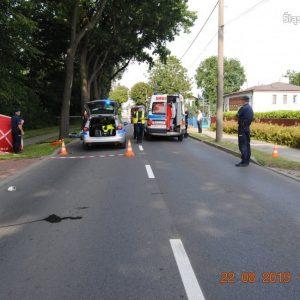 Śmiertelny wypadek z udziałem motocyklisty