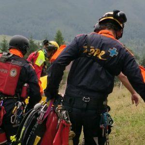 Dramatyczna akcja ratunkowa w Tatrach. Ratownicy proszą by nie przeszkadzać!