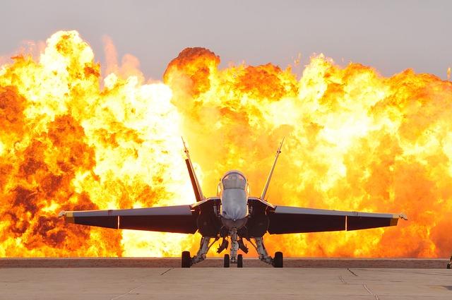 Katastrofa amerykańskiego samolotu wojskowego. Są ranni