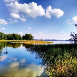 Wypadek na jeziorze Kisajno. Policja przeszukiwała linię brzegową. Gdzie jest Piotr Woźniak-Starak?