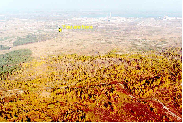 Uwaga! Pożar strefie zamkniętej w Czarnobylu. Płonie skażony teren