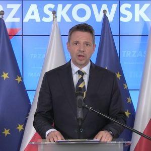 """Trzaskowski: """"Walec propagandowy i """"państwo PiS"""""""