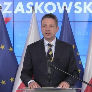 """Trzaskowski: """"10 milionów Polaków, chce Polski która jest europejska, tolerancyjna, uśmiechnięta"""""""