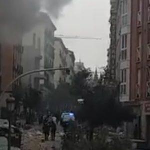 Wybuch w centrum Madrytu! Ofiary śmiertelne, trzy piętra budynku zniszczone