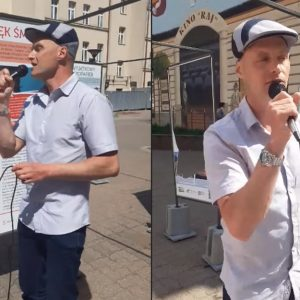 Syn Krawczyka śpiewa na ulicy piosenki ojca [WIDEO]