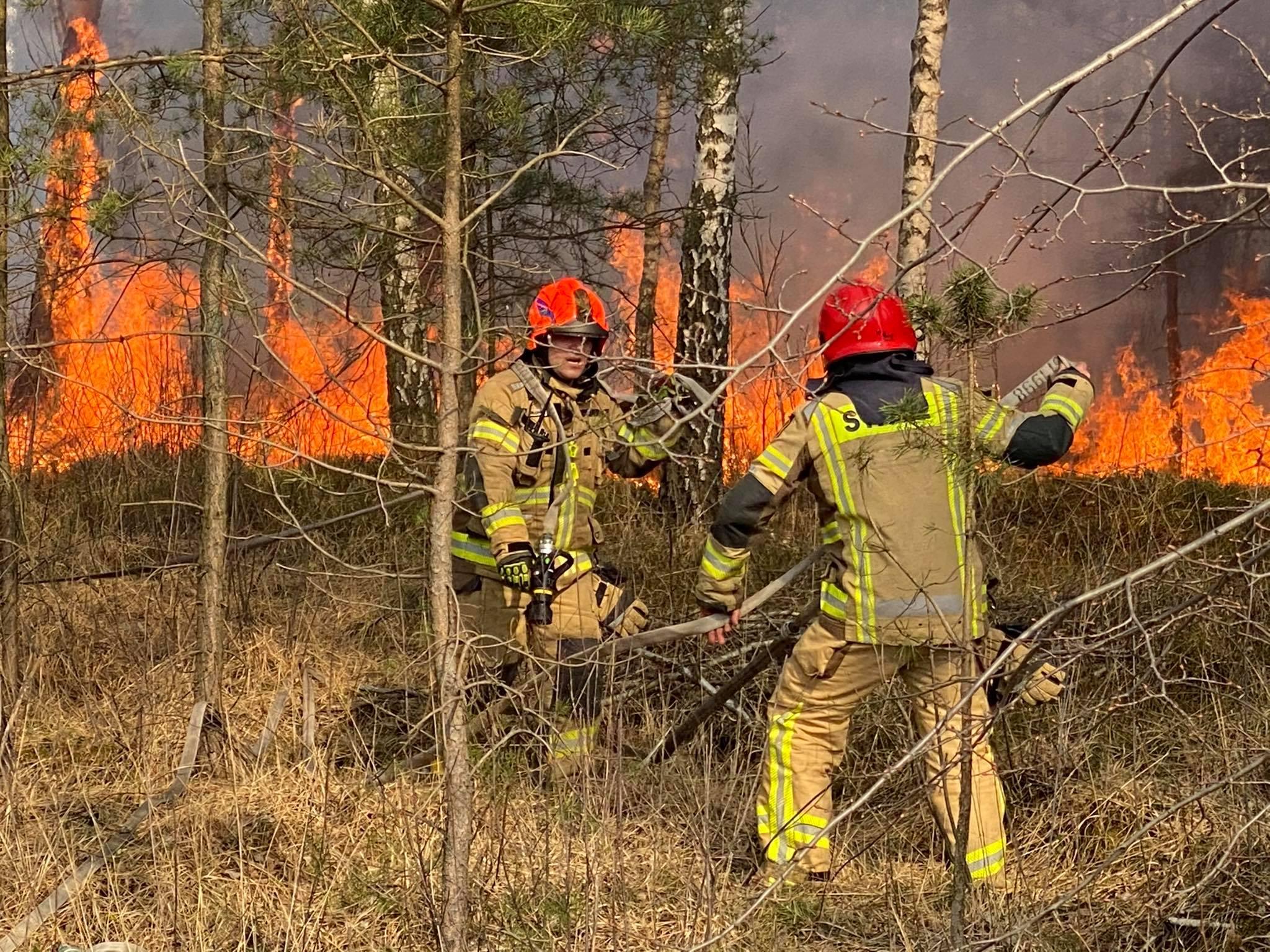 Duże zagrożenie pożarowe aż w siedmiu województwach