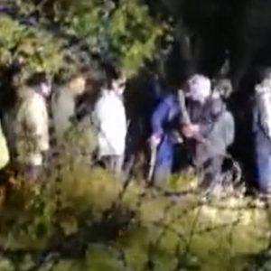 Grupa cudzoziemców forsowała granicę. Straż graniczna pokazała nagranie [WIDEO]